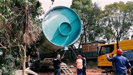 玻璃钢泵站一体化
