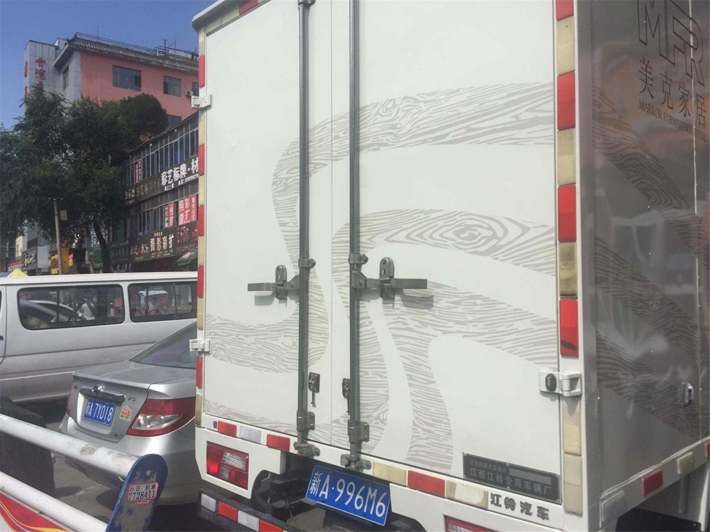 车贴广告图片