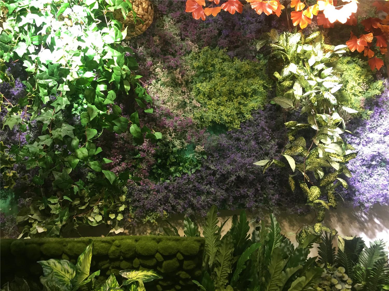 绿植效果墙设计
