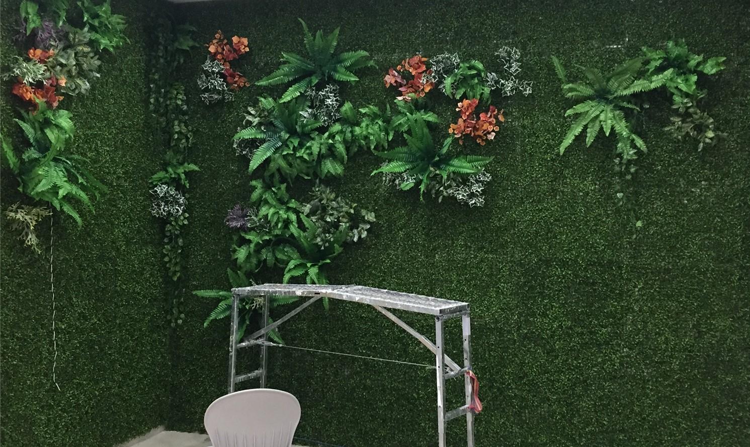 室内绿植效果墙