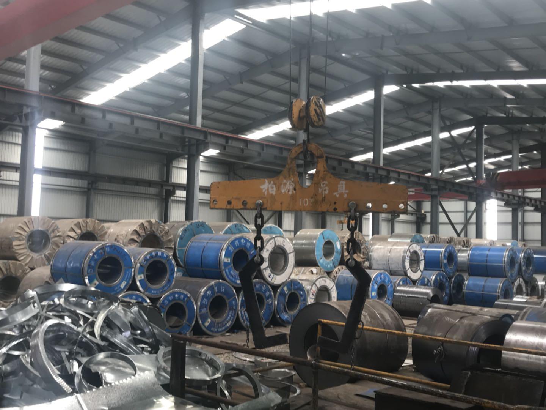 钢材加工工厂