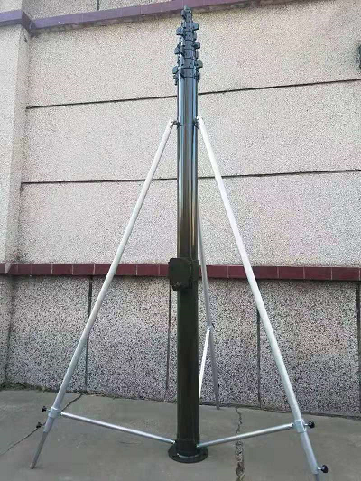 可升降式避雷针