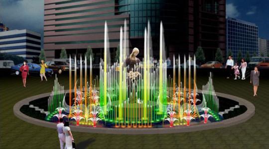 音乐喷泉设备