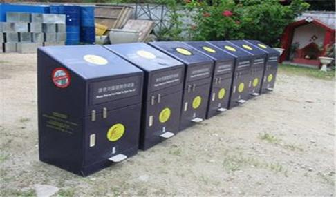 智能分类垃圾箱1