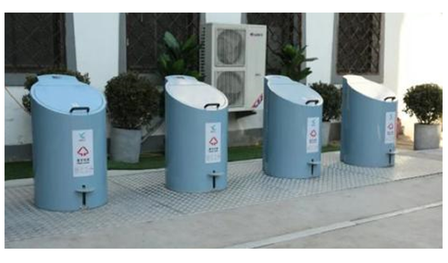 地埋式分类垃圾站