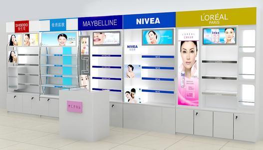 化妆品展柜7