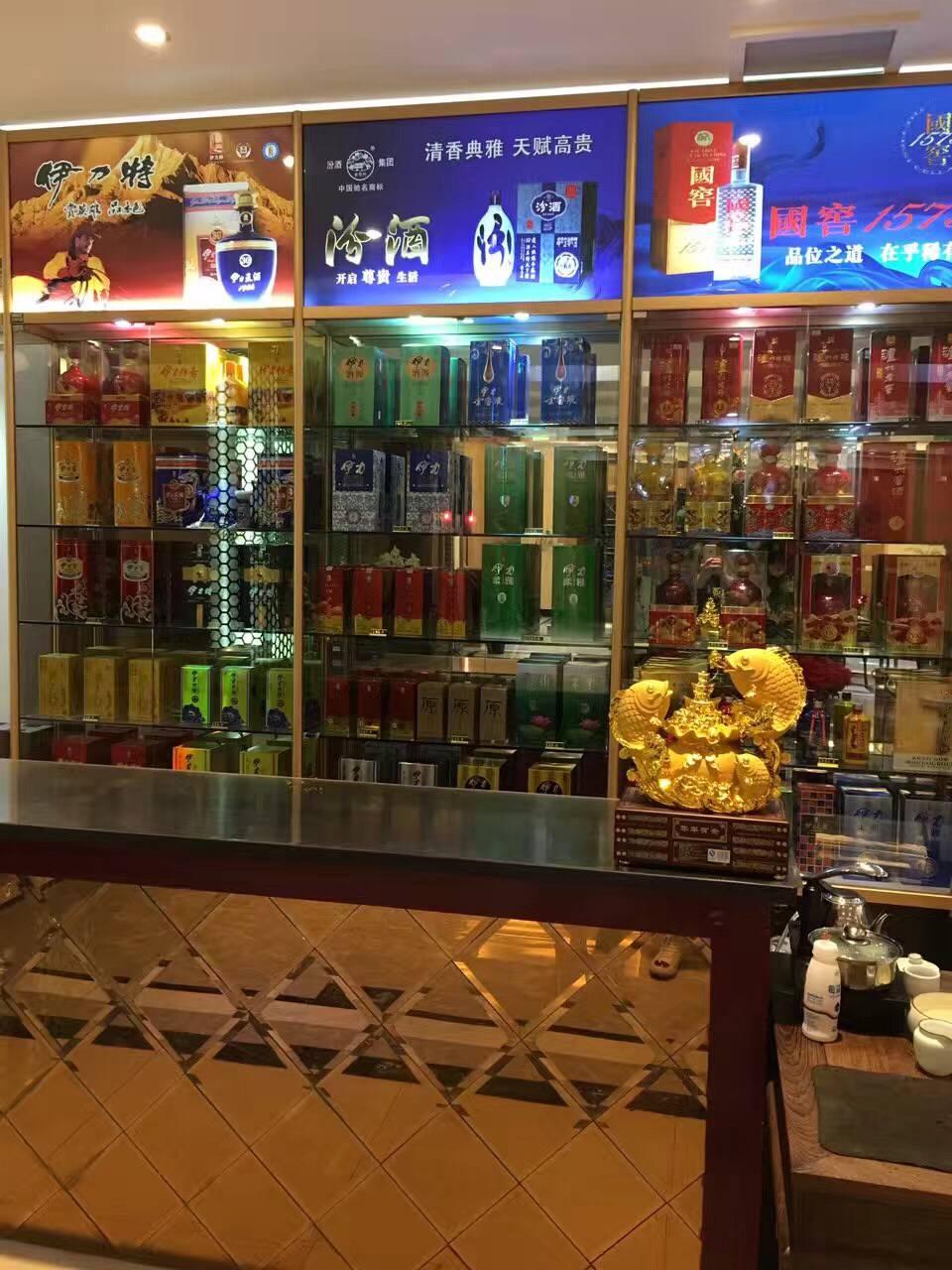 烟酒类展柜定制5