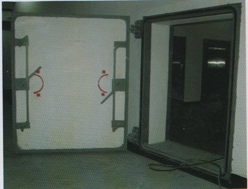 钢筋砼单扇防护密闭门