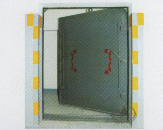 钢结构单扇防护密闭人防门