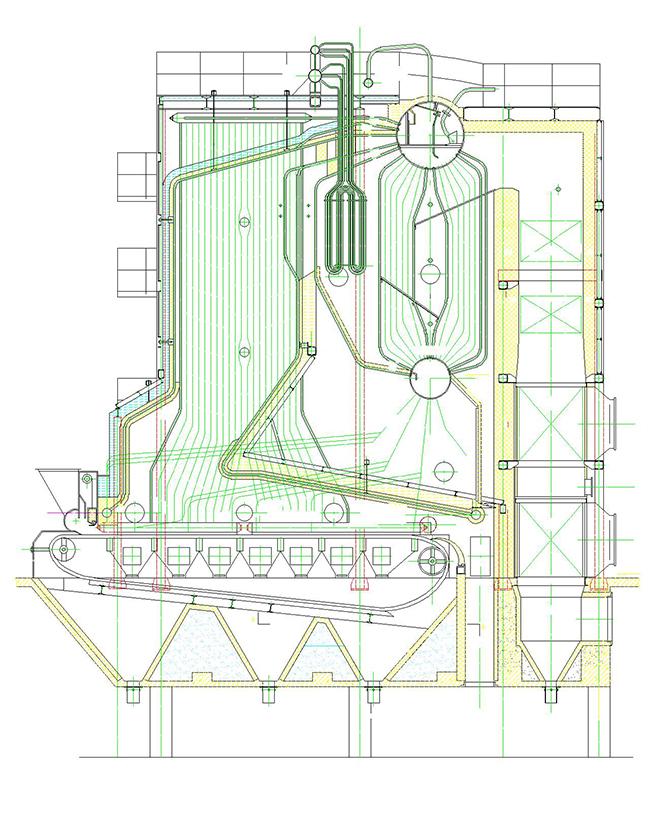 SHL系列蒸汽热水锅炉