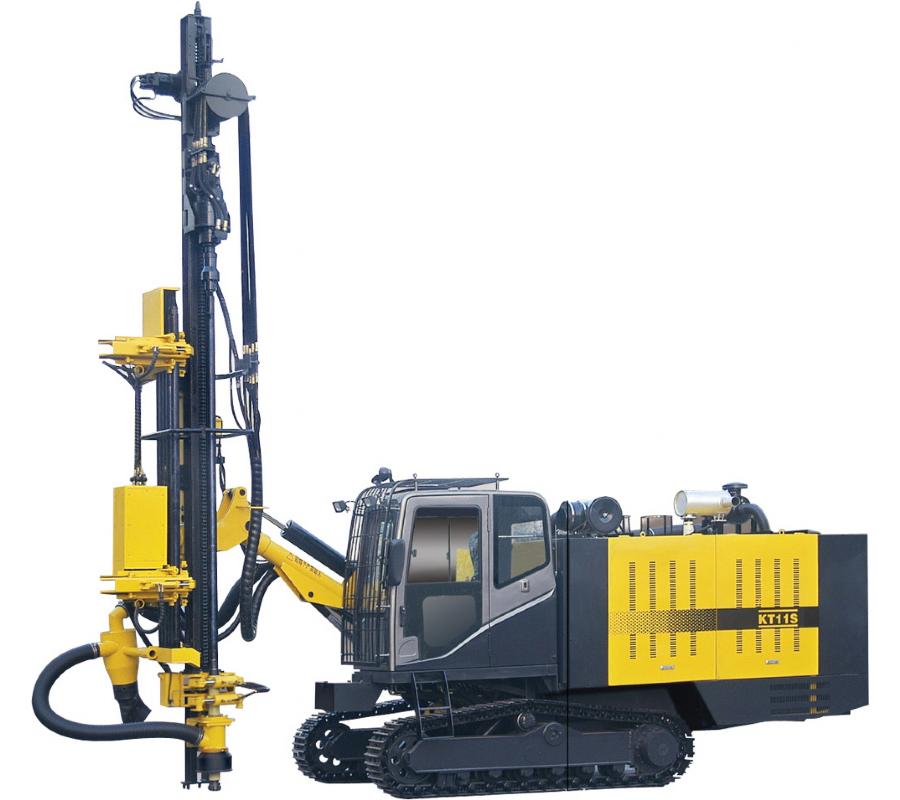 KT11S整体式露天潜孔钻车