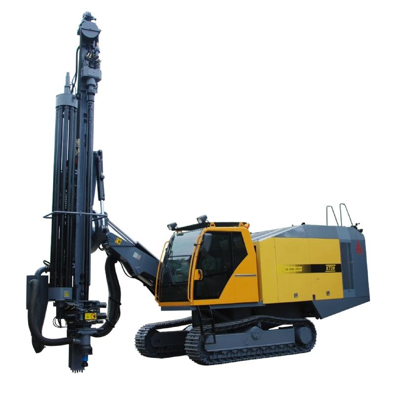 KT20整体式露天潜孔钻车