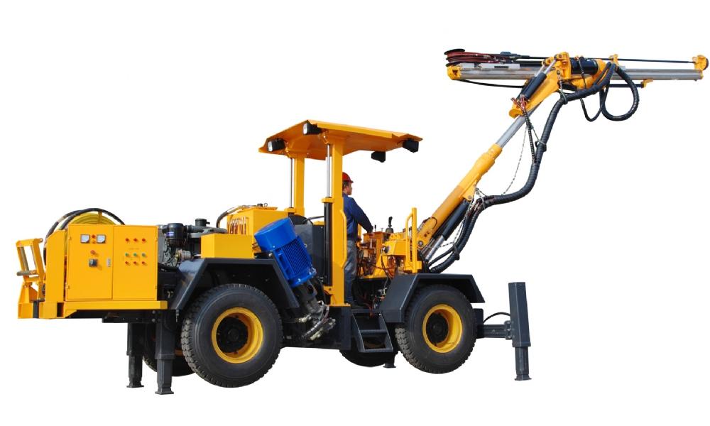 ZD132型全液压掘进钻车