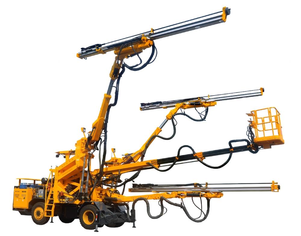 ZD338全液压掘进钻车