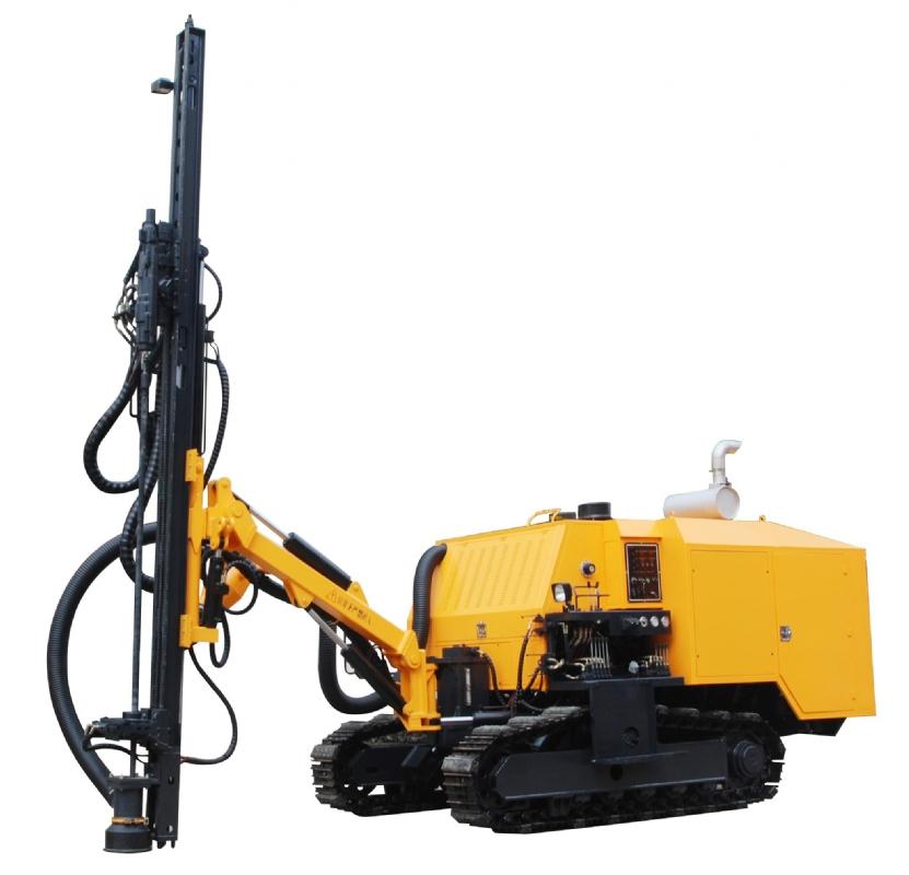 ZL138A型全液压露天钻车