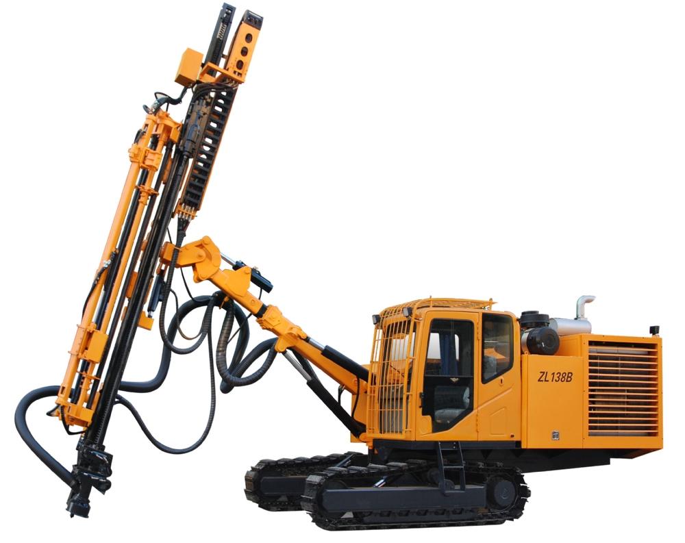ZL138B型全液压露天钻车