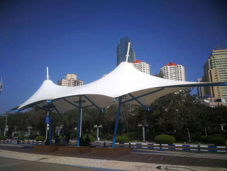 广场景观膜结构1