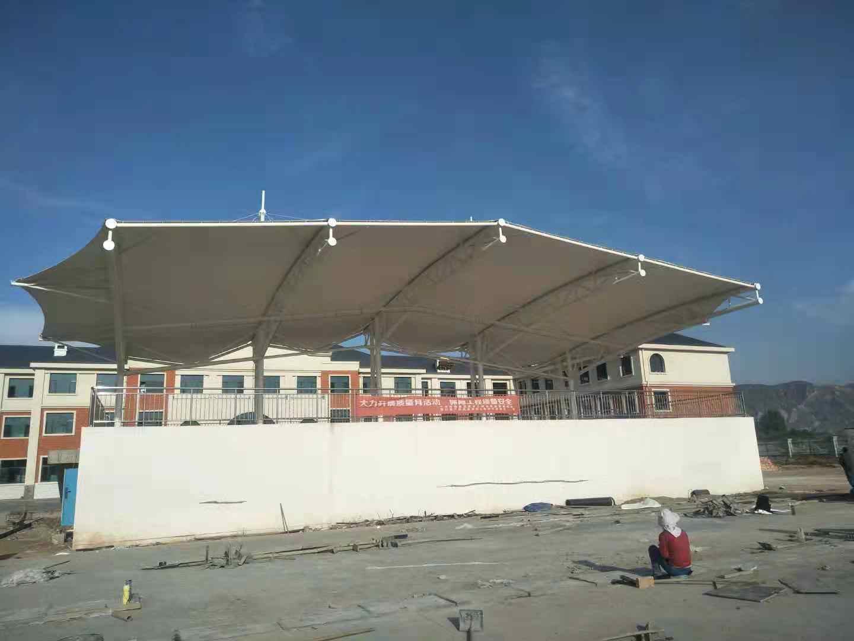 体育场膜结构施工
