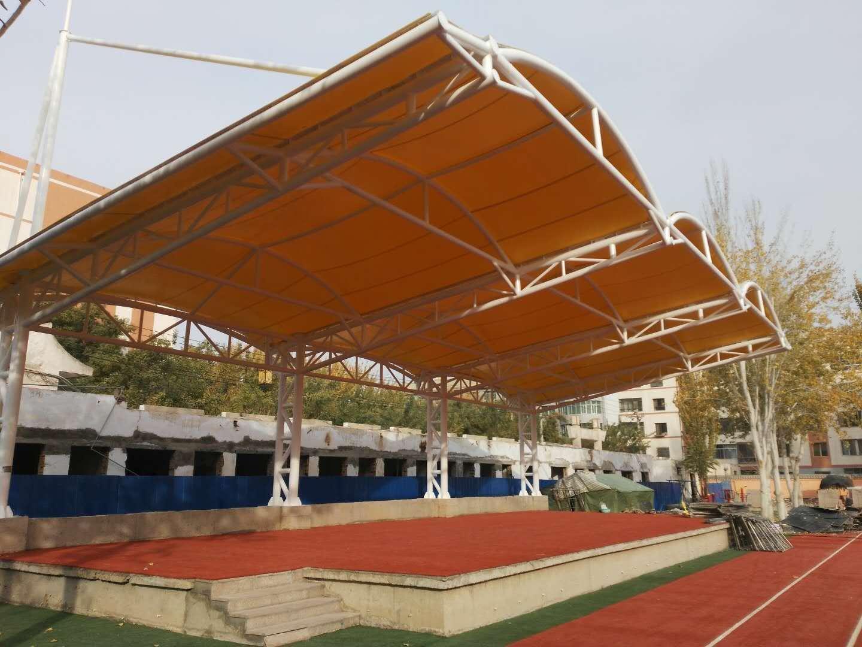 体育场膜结构遮阳