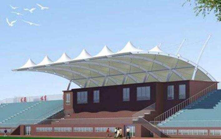 新疆体育场膜结构遮阳