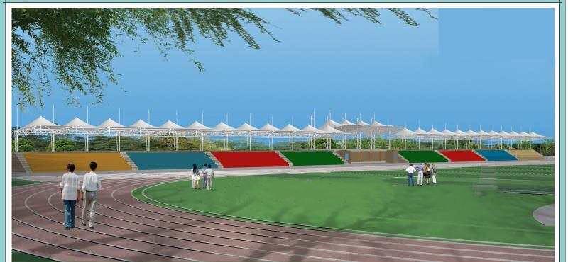 乌鲁木齐体育场膜结构遮阳