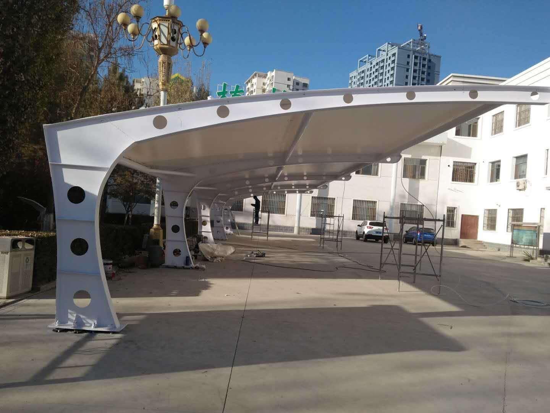 停车场膜结构1