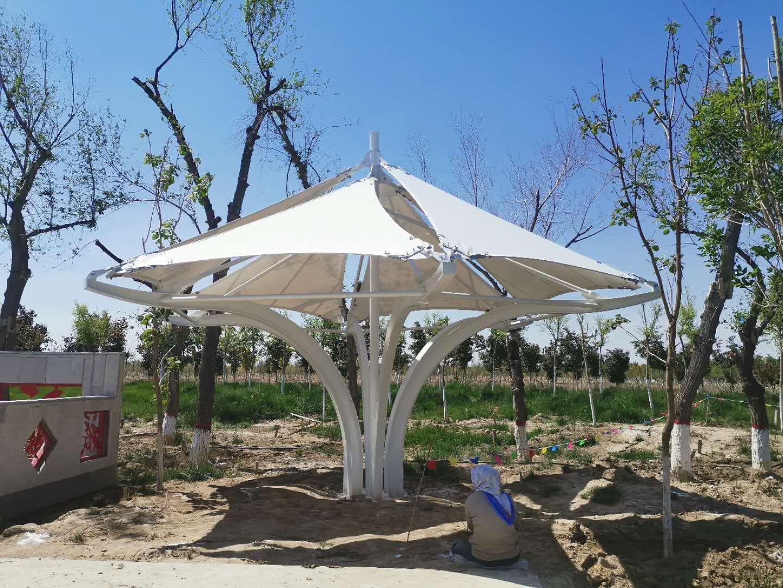 公园膜结构遮阳