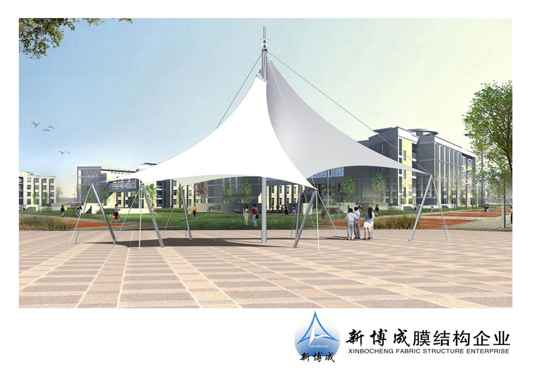新疆广场高底膜造型