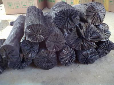 原木果木炭