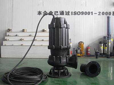 扒扒新疆潜水排污泵的排水故障分析