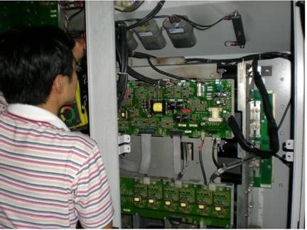 变频器现场检修