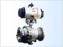 Q647F/H固定球气动球阀
