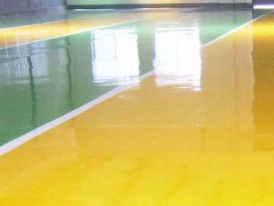 细述喀什环氧树脂平涂地坪的保养