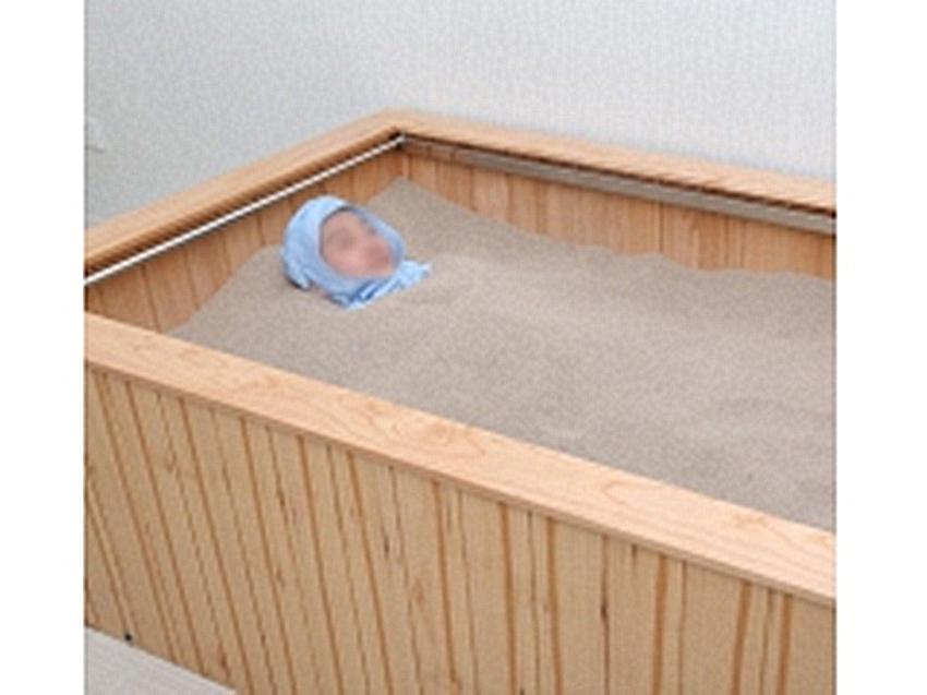 室内沙疗床