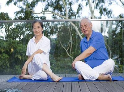 老年人瑜伽培训