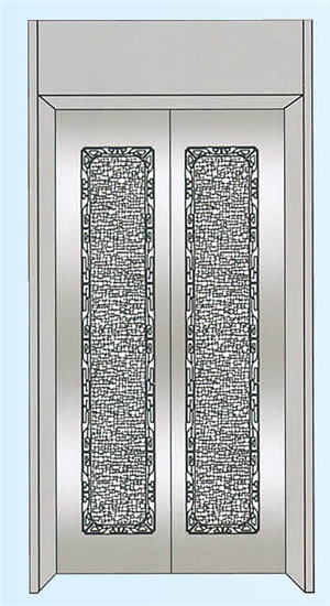 美菱达电梯轿门