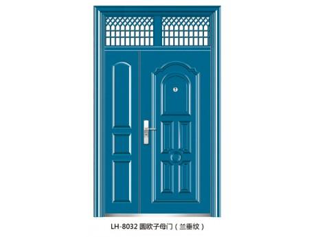 LH-8032圆欧子母门