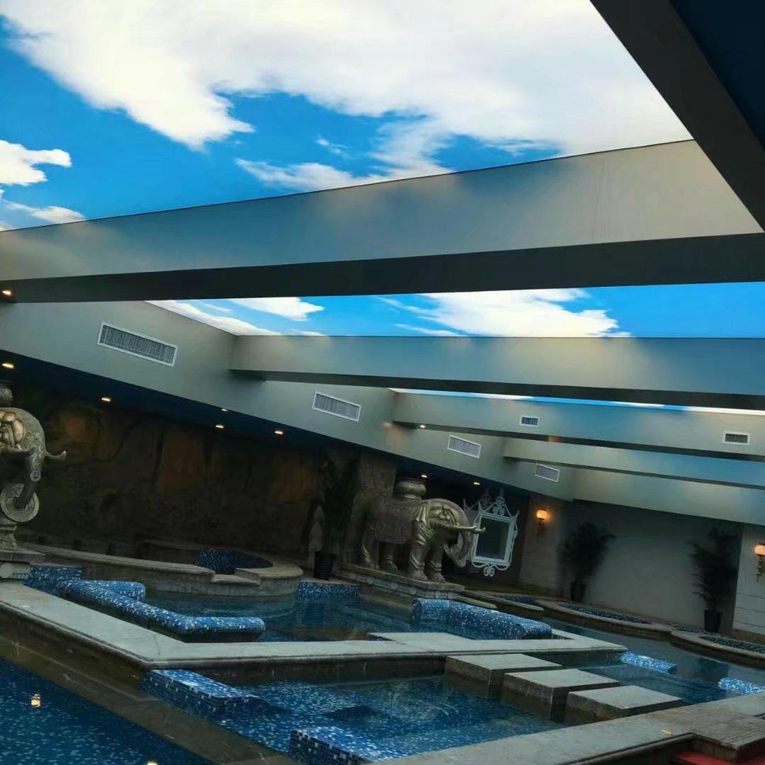 游泳馆软膜天花吊顶
