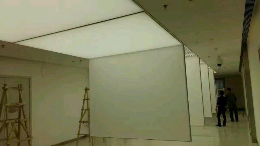 A级防火软膜天花安装