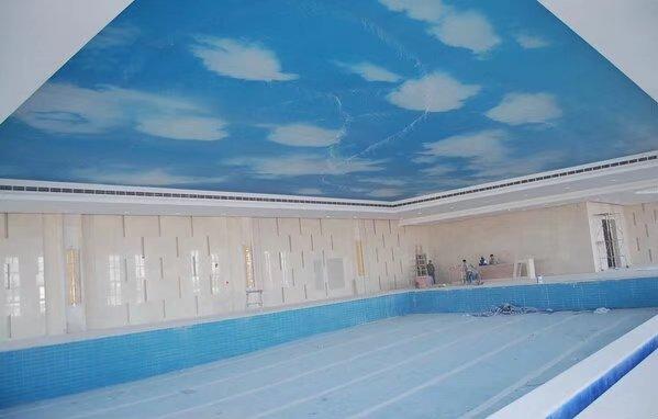 游泳馆吊顶设计