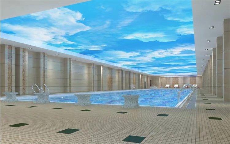 游泳馆系列吊顶安装