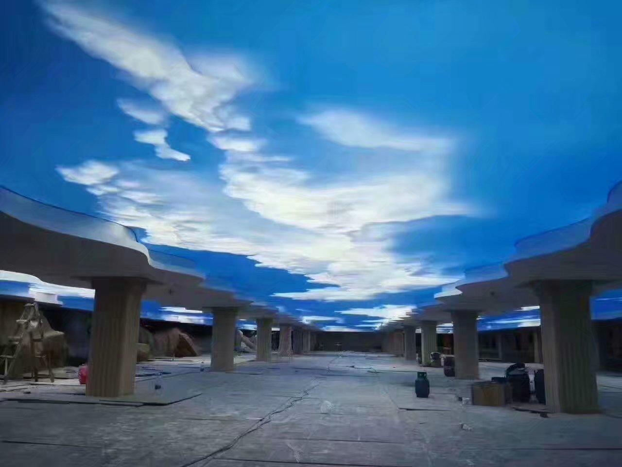 蓝天白云软膜天花