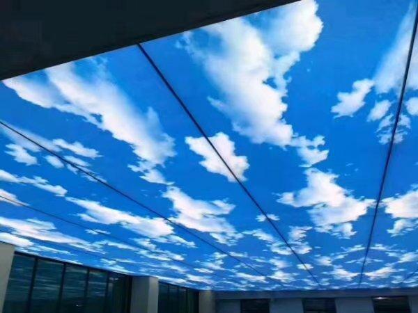 蓝天白云软膜天花吊顶价格