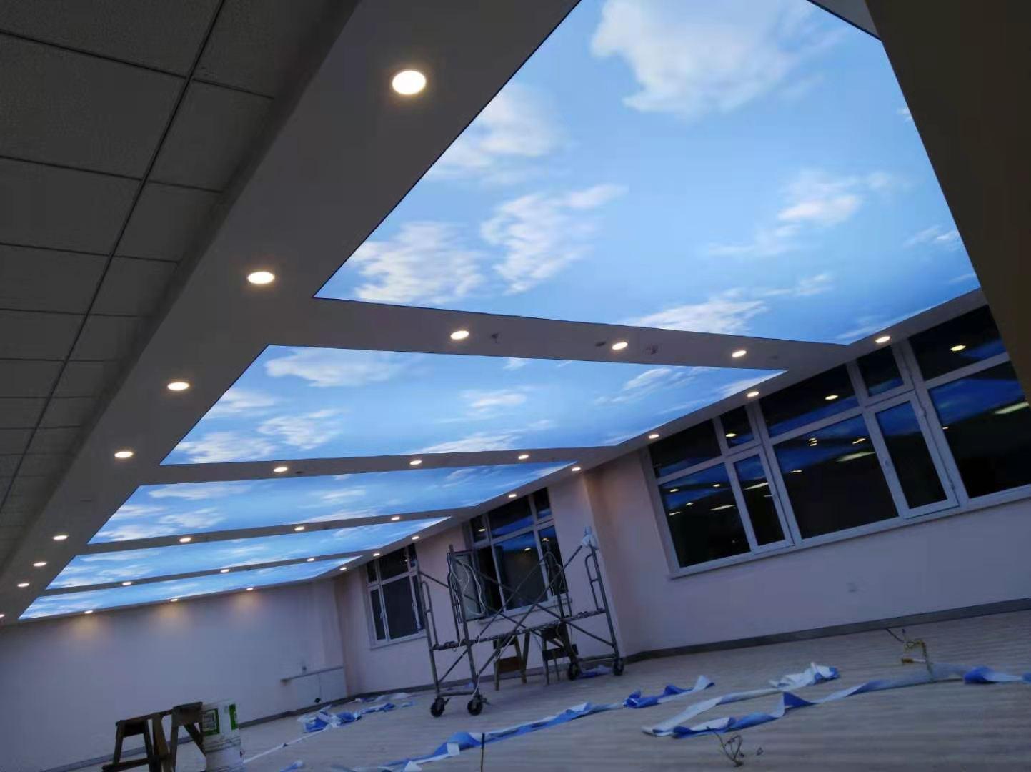 平面蓝天白云软膜天花系列
