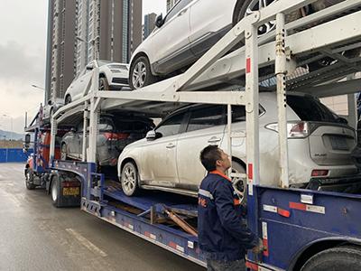 新疆轿车托运公司