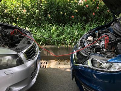 汽车电瓶搭电