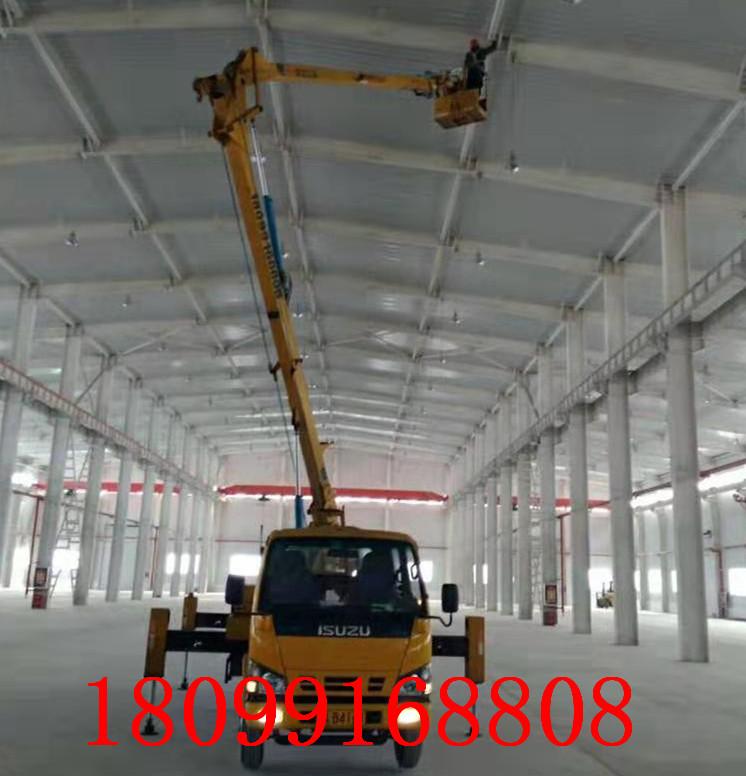 新疆高空作业车厂房维修