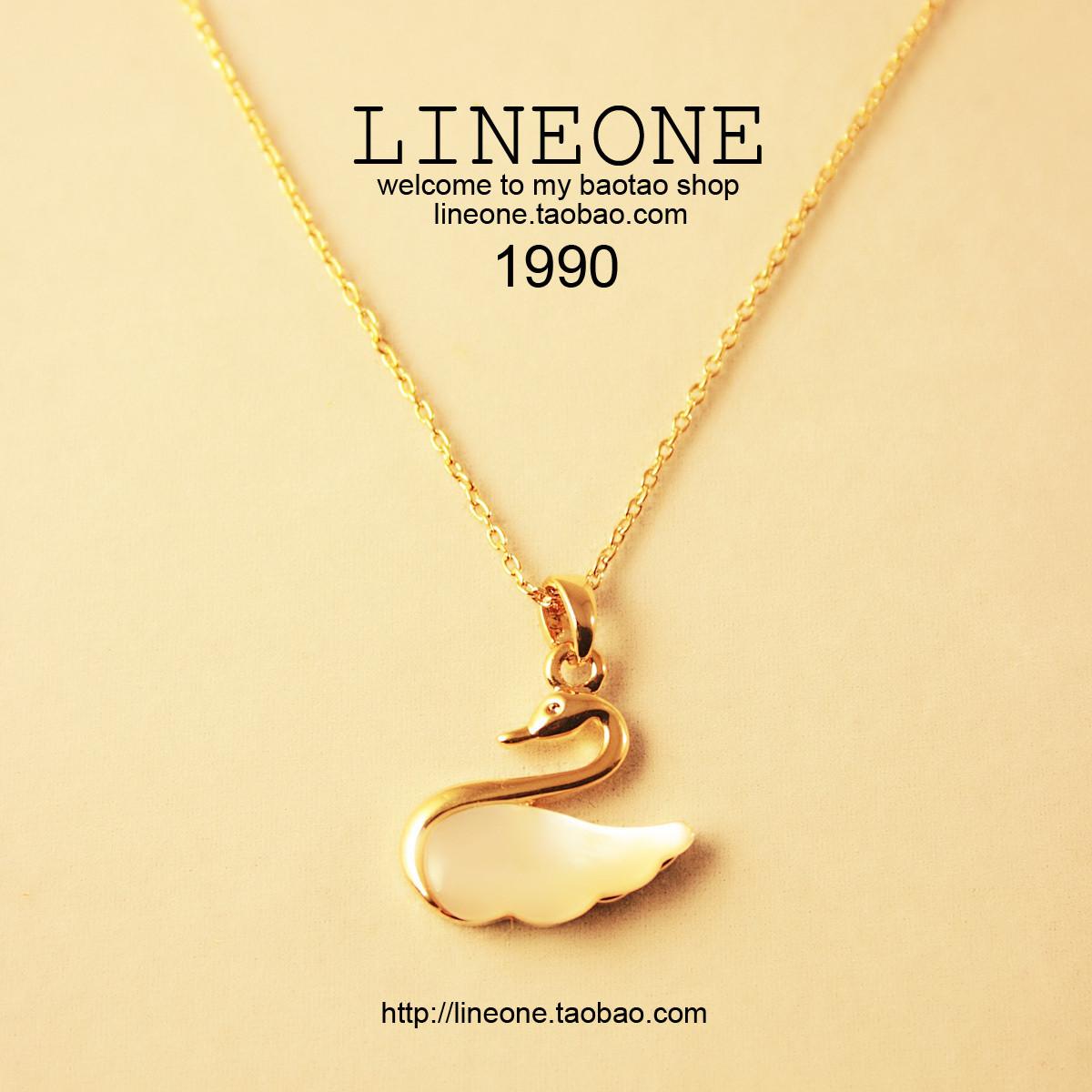 铂金项链01