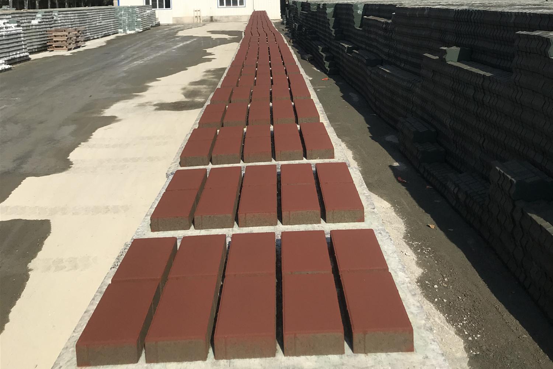 彩色马路砖