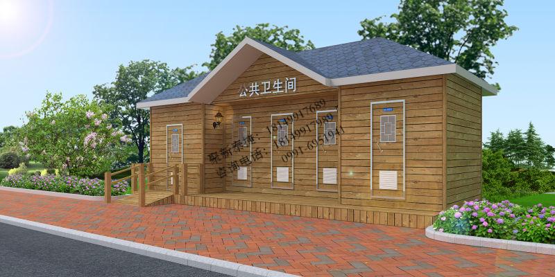 实木环保移动厕所TJET-304